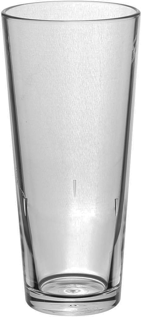 Set of 6 TAO Polycarbonate Plastic Beer Glasses