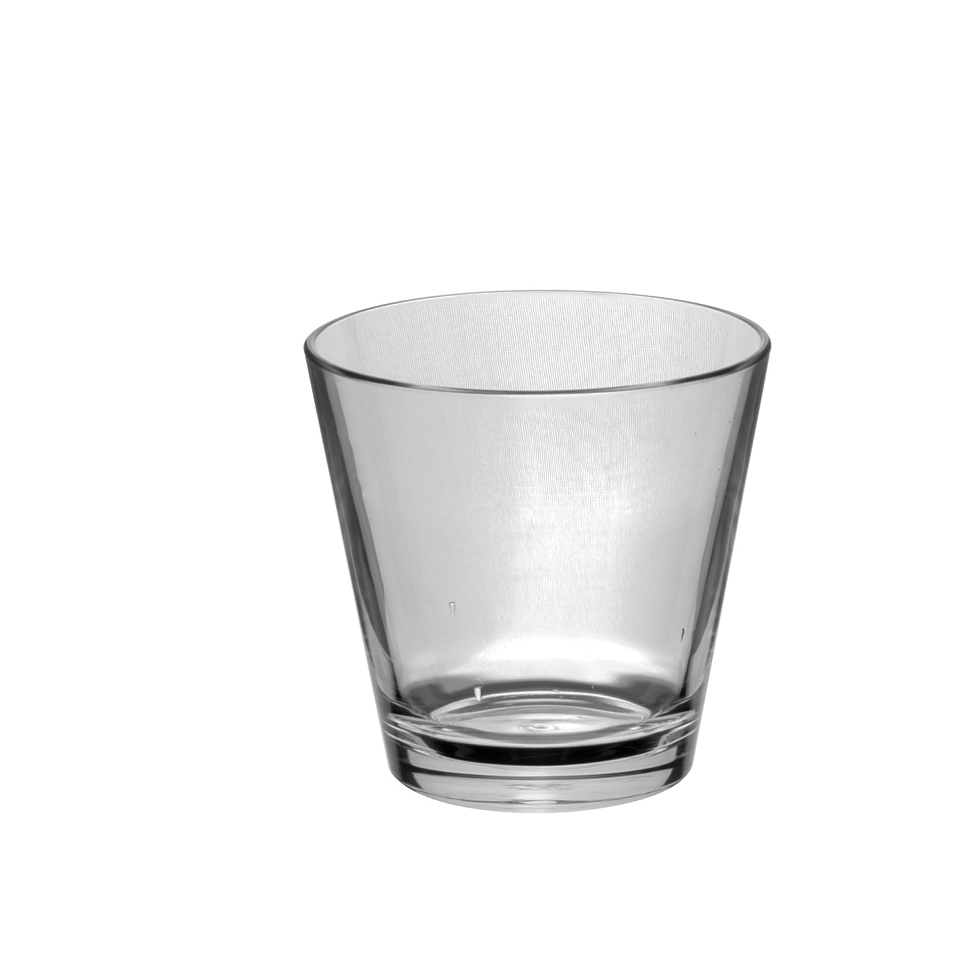 Set of 6 TAO Polycarbonate Plastic Whisky Glasses